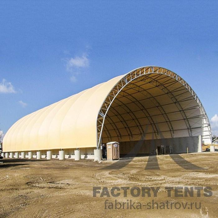 Тентовый ангар 25х40м Производитель: «Фабрика шатров»