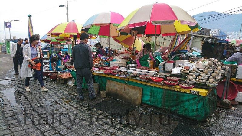 Торговый зонт-тент