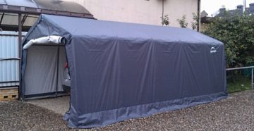 Быстросборный тентовый гараж для автомобиля