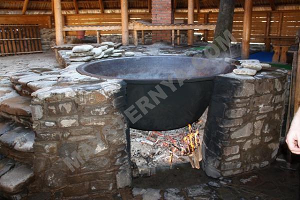 Закарпатская угунаая баня в стационарном исполнении