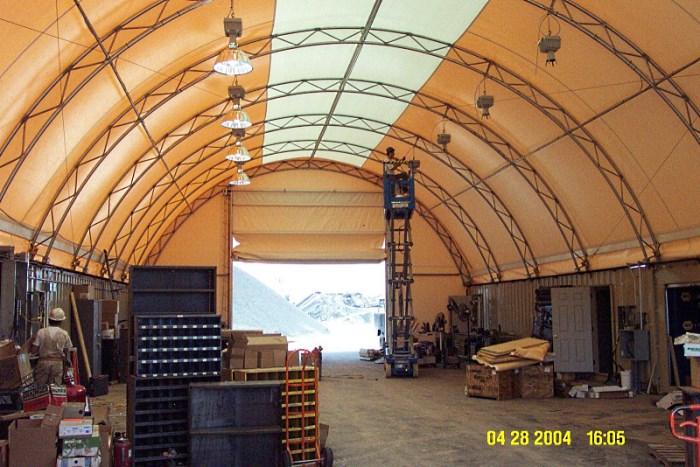 Зонирование внутренней площади склада