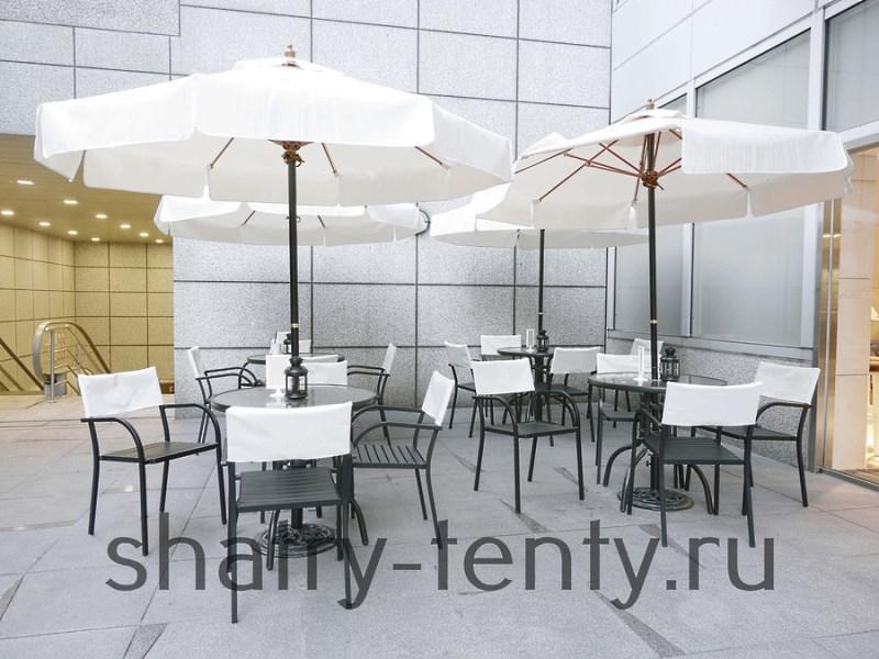 Зонт-тент для кафе