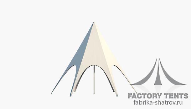 Звезда диаметр 6м, компания Фабрика шатров